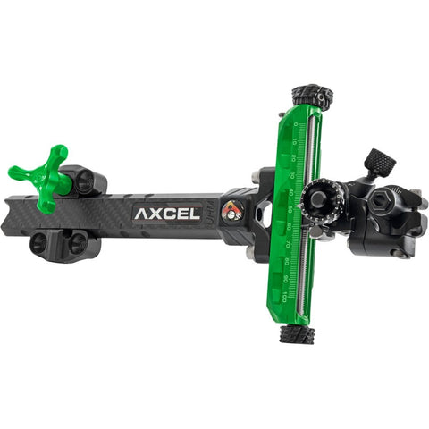 Axcel Achieve Xp Compound Sight Green- Black 9 In. Rh