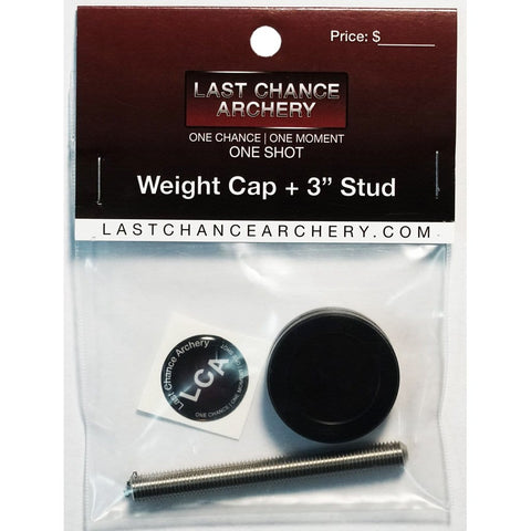 Last Chance Stabilizer End Cap W- Stud 3 In. 5-16-24