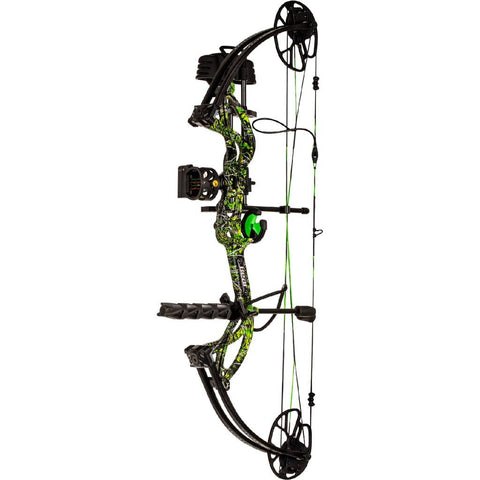Bear Archery Cruzer G2 Rth Bow Package Moonshine Toxic 5-70 Lbs. Rh