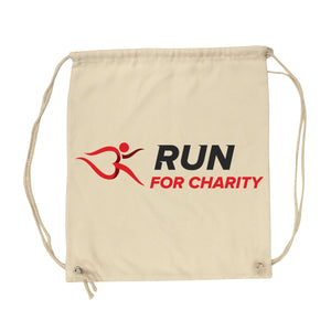 Gym Sack - Run For Charity Logo Design