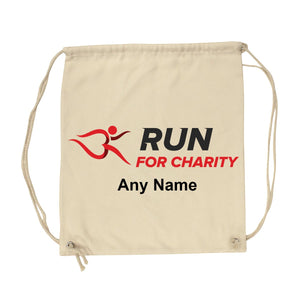 Gym Sack - Run For Charity Logo and Name Design