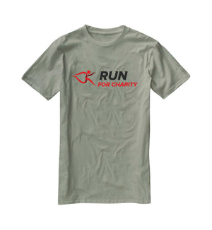 Unisex T-Shirt - Run For Charity Logo Design Option