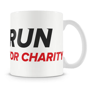 Ceramic 10z Mug - Run For Charity Logo Design