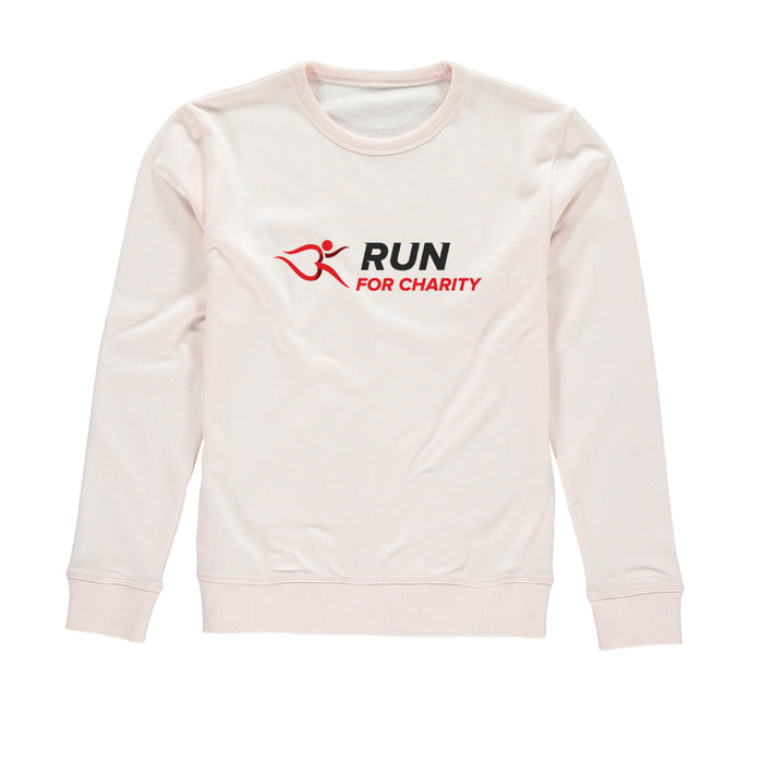 Womens Sweatshirt - Run For Charity Logo Design Option