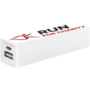 Power Bank - Run For Charity Logo Design