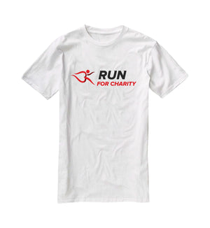 Kids T Shirt - Run For Charity Logo Design Option