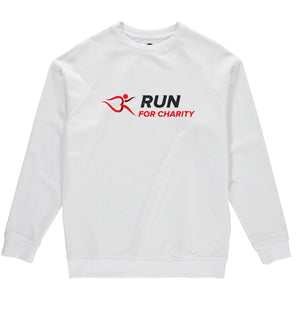 Mens Sweatshirt - Run For Charity Logo Design Option