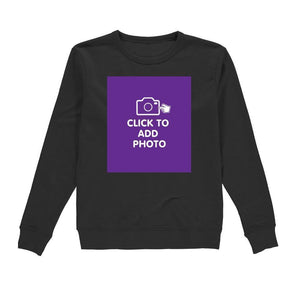 Womans Sweatshirt - Own Photo Upload Design Option