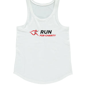 Womens Vest - Run For Charity Logo Design Option