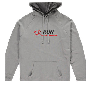 Unisex Hoodie - Run For Charity Logo Design Option