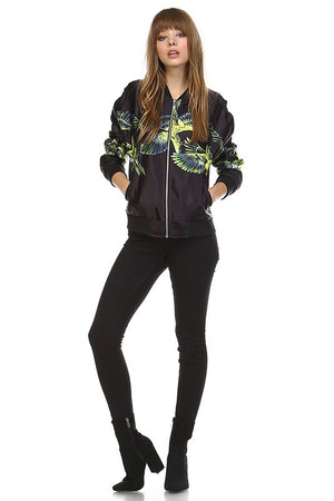 Wild Birds Bomber Jacket