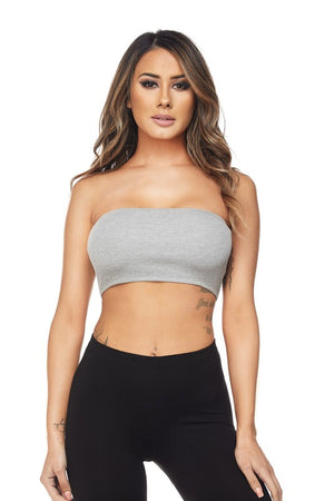Knit Bandeau Top