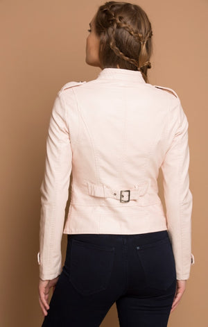 Front Concealed Zipper Jacket