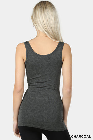 Double Scoop Neck Tank