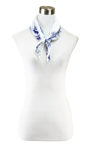 LITHOGRAPH PLEATED NECKERCHIEF