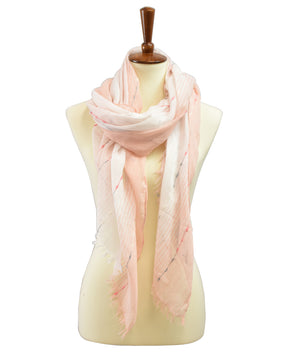 OMBRE DASHED LINKED SCARF