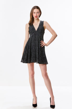 Babydoll Polka Dot Dress