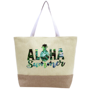 Aloha Summer Beach Bag