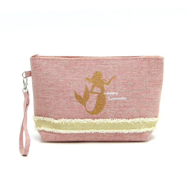 Happy Summer Mermaid Wristlet