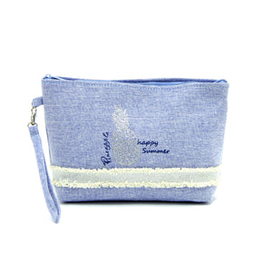 Happy Summer Pinapple Wristlet