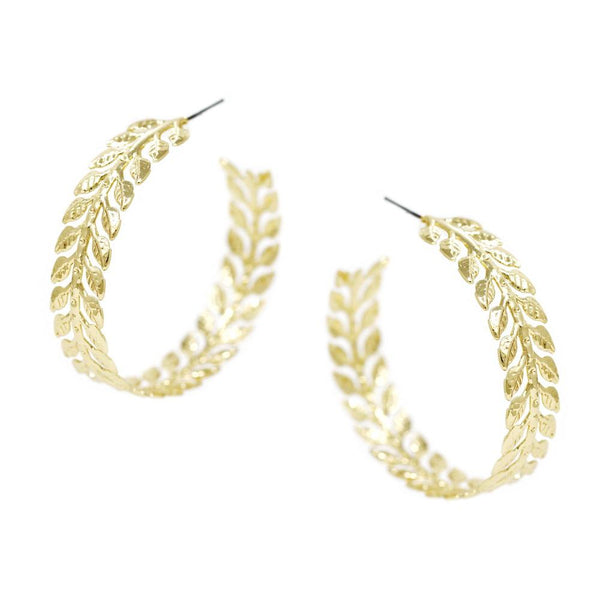 Branches Hoop Earrings