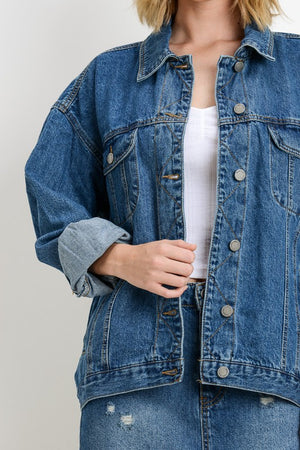 Oversized Classic Denim Jacket