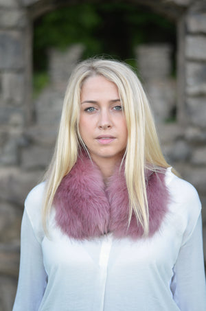 DETACHABLE FUR ULTRA SOFT SCARF