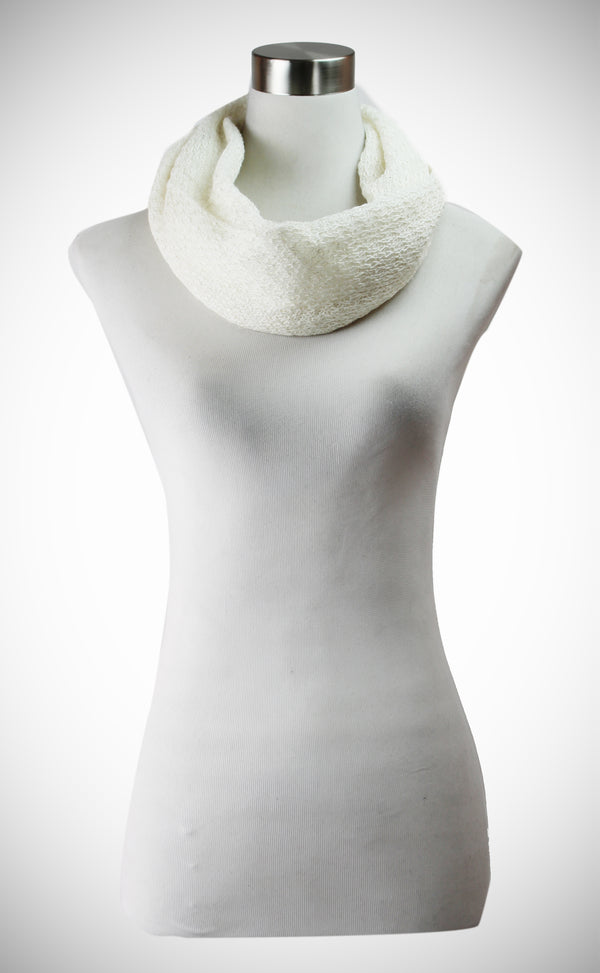 LUXURY SOFT KNIT INFINITY SCARF