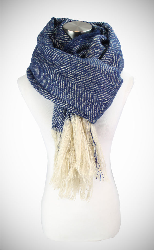 SOFT LONGER SIZE FRINGE END SCARF