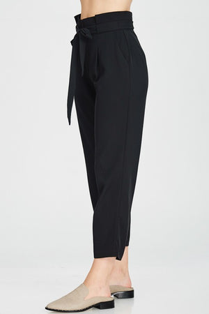 Belted Ankle Trouser