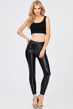 Super Sleek Faux Leather Leggings