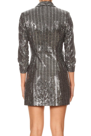 Disco Nights Blazer Dress