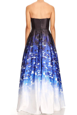 Gradiant Skies Ball Gown
