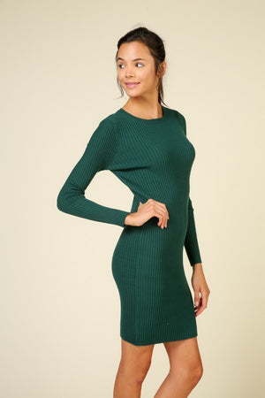Bodycon Knit Midi Dress