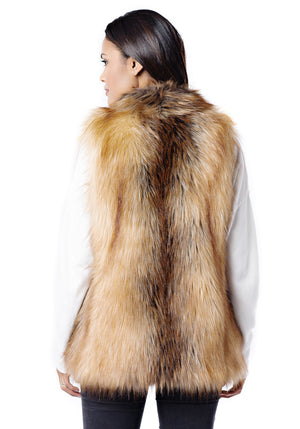 Faux Fur Hook Vest