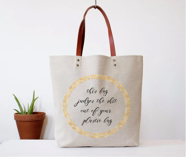 """Judges Your Bag"" Tote Bag"