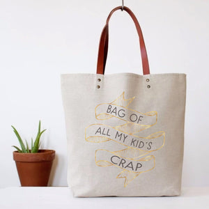"""Kids Crap"" Tote Bag"