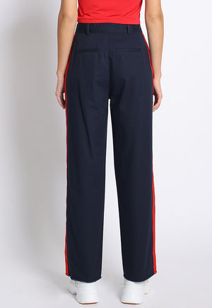 Side Stripe PaperbagTrouser