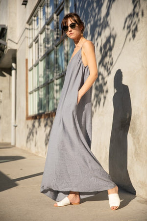 Adjustable Cocoon Maxi Dress