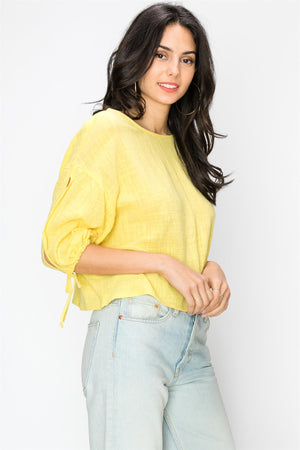 Balloon Sleeve Breezy Blouse