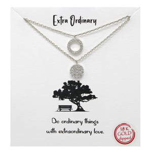 Extra Ordinary Carded Necklace