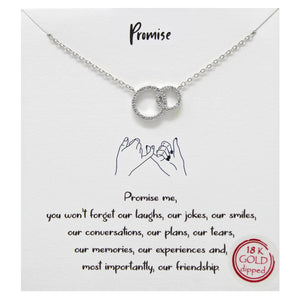 Promise Carded Necklace