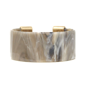 Gold Tipped Marblized Cuff