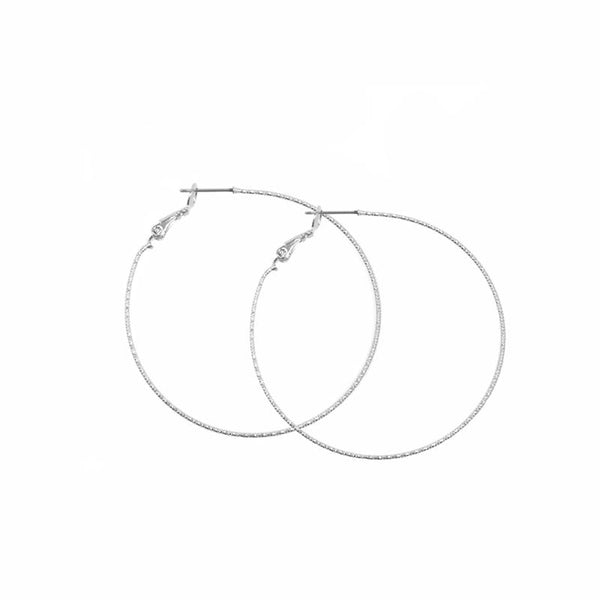 Dainty Shimmer Hoops
