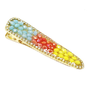 Rainbow Jewels Hair Clip