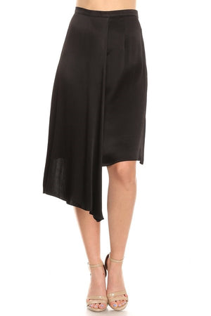 Asymmetrical Draped Skirt