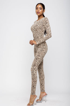 Leopard Cat Suit