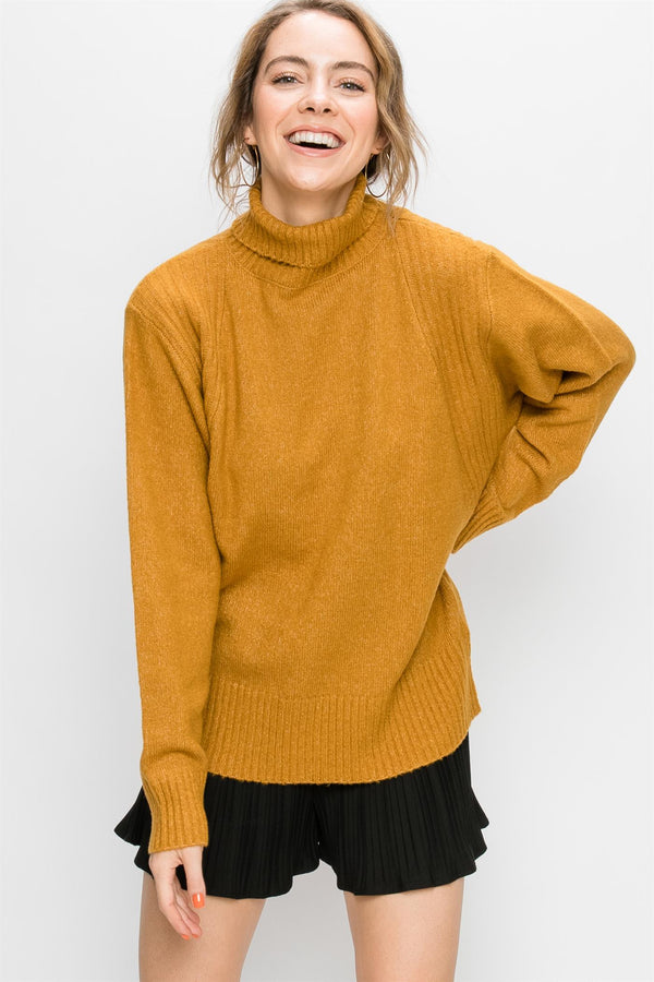 Oversized Turtleneck Sweater