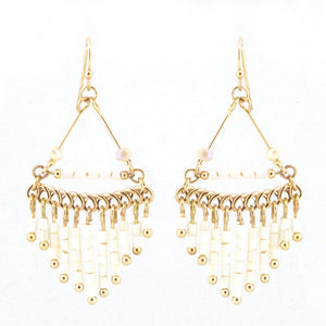 Chandelier Beaded Earrings