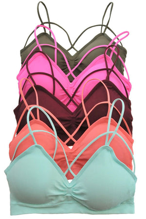 Sweetheart Criss Cross Bralette